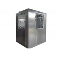 Best Customized Anti Static 2000M3/H SUS 304 Air Shower Room wholesale