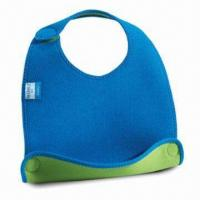 Best Baby Bib, Customized Designs are Accepted, Made of Neoprene wholesale