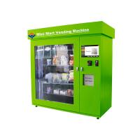 Cheap University / Airport / Bus Station Vending Machine Rental Kiosk 100 - 240V Working Voltage for sale