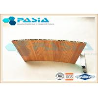 Best Wood Veneer Honeycomb Composite Panels Yacht Wall Use Corrosion Resistant wholesale