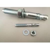 China Hardware Fasteners Expansion Anchor Bolt Wedge Anchors With White Zinc Plated on sale