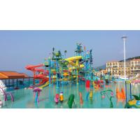 Cheap Professional Water Play Structures Customized For Children / Adults for sale