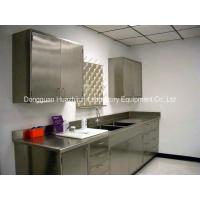 Cheap Professional Stainless Steel Lab Furniture , Metal Lab Casework Sidebench for sale