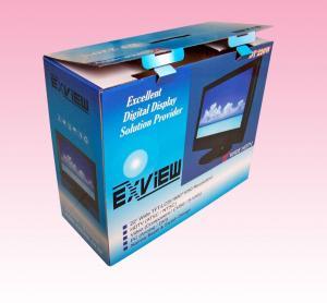 Best custom luxury custom corrugated box with closing/locking wholesale