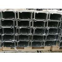 Best Corrision Resistant Cold Rolled Steel Profiles , Hot Dip Galvanized C Channel wholesale