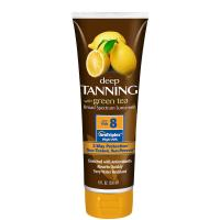 Best 236ml super-luxurious lemonate deep bronzer tanning lotion with SPF8 wholesale