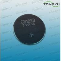 China Watch CR1220 Lithium Coin Cell Battery , 3v 40mah Button Lithium Primary Cell Battery on sale