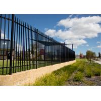 China Tubular Steel Fence supplier on sale