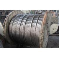 China 304 Stainless Steel Wire Rope 6mm For Basket , No Crack High Tensile 1x37 wholesale