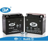 Best High Performance 250cc Motorcycle Battery 12v 9Ah 138 * 72 * 134mm Acid Resistance wholesale