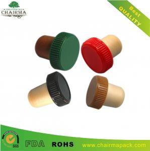 Best Plastic cap synthetic cork wine bottle stopper wholesale