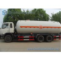 China 20000-24000L 6X4 Dongfeng Truck 210HP Mobile LPG Storage Tanks on sale