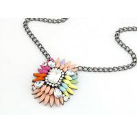 China Favorites Compare Wholesale Aliexpress Cheap Fashion Costume Jewelry Resin Necklace on sale
