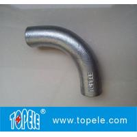 BS4568 Conduit Fittings 20mm, 25mm Malleable Iron Solid Elbow , 90 Degree
