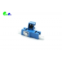 China 2 / 4 / 8 Fibers CS UPC SM Fiber Optic Adapter Without Flange For Data Center on sale