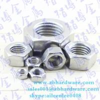 Cheap Hot sale low price China fastener manufaturer hex nut m3 to m64 din934 for sale