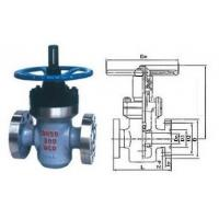 China ZF43Y -250 Flat forged gate valve DN 50 Work Under 25 MPA For HIGH PRESSURE on sale