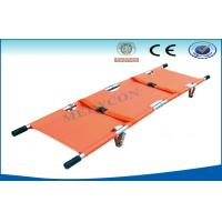 China Emergency Aluminum Alloy Ambulance Stretcher , Foldaway Stretcher on sale