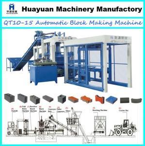 Best Hydraulic interlocking brick machine price QT10-15 automatic interlocking brick making machine (hot sale in Africa) wholesale