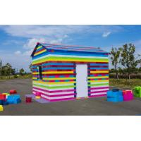 China Custom high durable non-toxic portable kids large plastic building blocks vintage playground equipment for sale on sale