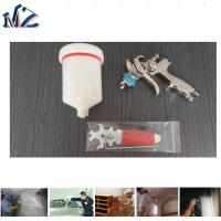 Best 2017 Aluminum Cast 600ML High Quality LVMP Gravity Air Painting Spray Gun used in car painting wholesale