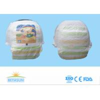 China Training Disposable Baby Pull Up Pants Rapid Absorption With USA Fluff Pulp on sale