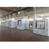 China Stainless Steel Framed Commercial Laundry Machines Reliable With Two Drain Valves on sale