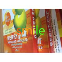 Best Adults Berry Leisure Slimming Capsule , Organic Max Diet Pills No Side Effect wholesale