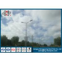 Best Yield Strength 345 Mpa Outdoor Street Lamp Post 10m ISO 9001 Long Life Period wholesale