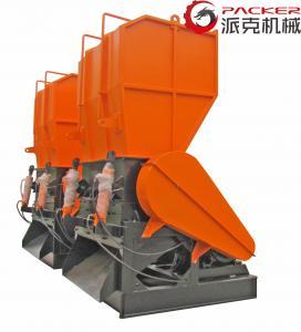 PC ABS Waste Plastic Crushing Machine , Crusher Plastic Machine 800*600mm Inlet