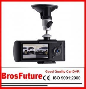 Best 2.7 Inch Dual Camera Car DVR with GPS G-Sensor / GPS Logger / Double CMOS Sensor wholesale