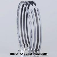 Best Super Dolphine / PROFIA Cars Piston Ring Set Fit For HINO K13C 132.9MM 13011-2841A wholesale