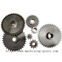 China Auto Transmission Chain Sprocket Wheel , Engineered  Roller Chain Sprockets on sale