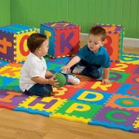 Best Interlocking Childrens Play Mat Safety For Playroom , Daycare And Swimming Pool wholesale