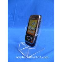 Best Customized brand mobile phone acrylic display stand / rack, PMMA phone holder wholesale