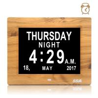 China Day clock with 8 inch screen Alarms Digital Photo Frame Calendar for the Elderly on sale