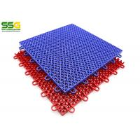 Recyclable Basketball Interlocking Tiles Flooring For Outdoor Sports Court