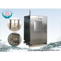 Best Double Sliding Doors Pharmaceutical Autoclave With Built In Printer And Micro Computer wholesale
