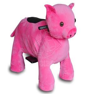 Best Sibo Pink Horse Baby Horse Rides Machine / Electric Animal Rides Custom Made wholesale