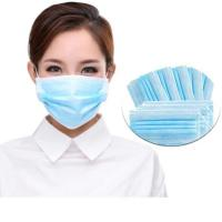 China Comfortable Disposable Non Woven Face Mask , Hygienic Face Mask For Worker on sale