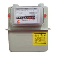 Best Intelligent Diagram Commercial Gas Meter , G4 Steel Case Home Gas Meter With IC Card wholesale