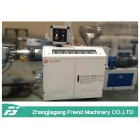 China Black Color PPE Pipe Extrusion Line With Single Screw Extruder Chemical Resistance on sale