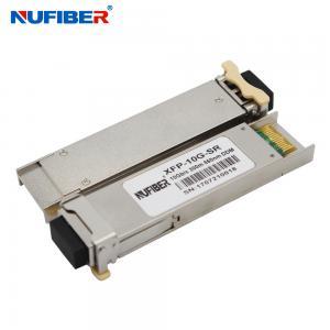 Best Single Fiber SM Xfp Fiber Transceiver 10Gb/S 40km Telecommunication Equipment wholesale