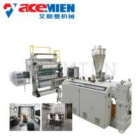 Best Sheet Board Extrusion Wall Panel Machine , Artificial Marble Production Line PVC Faux wholesale