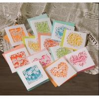 Artificial Paper Greeting Cards , Holiday Party Invitation Cards