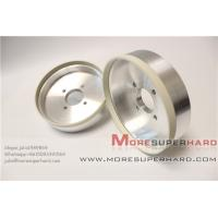 Best 6'' High cutting action 6A2 vitrified diamond grinding wheel for PCD  -julia@moresuperhard.com wholesale