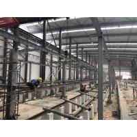 Buy cheap Metal H Section Steel Light Steel Structure Building Platform Price For Subway from wholesalers