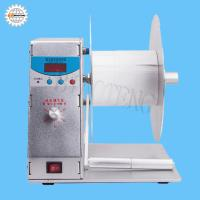 China Automatic label rewinder printer label automatic labeling machine spot on sale