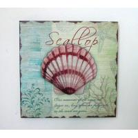 China MDF Seashell Wall Plaque, Carved Wall Plaque (SFW2505) on sale