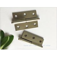 Best Multi - Purpose High Security Door Hinges Nickel Plated Butt Type wholesale